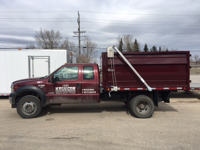 pickup truck dump box