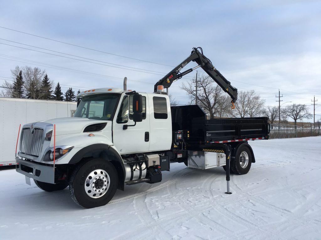 Hiab Single axle truck