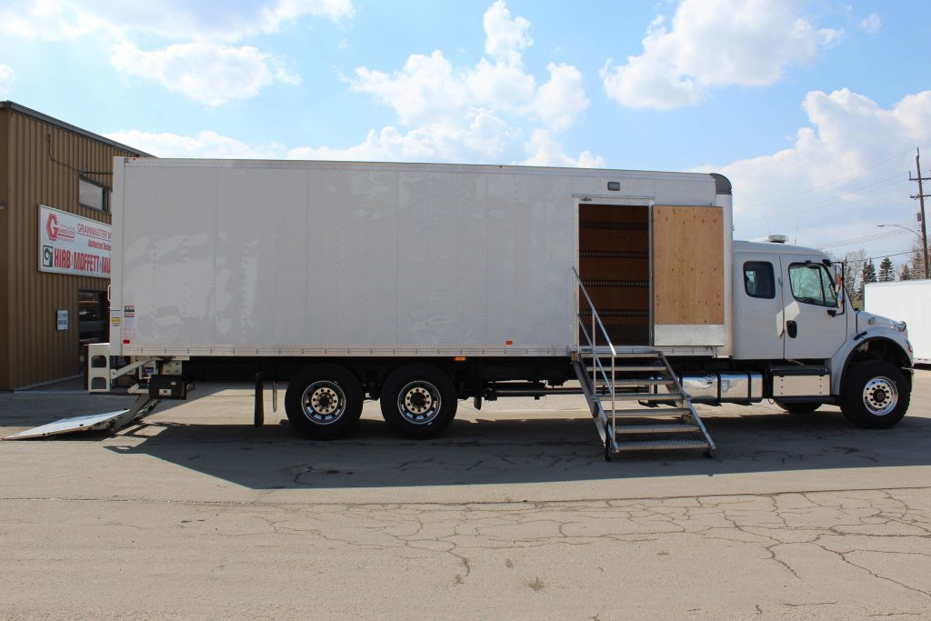 Custom van body